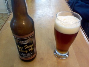 Waldorff Brewpub's Bee Sting Honey Rye